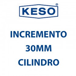 KESO INCREMENTO 30MM CILINDRO