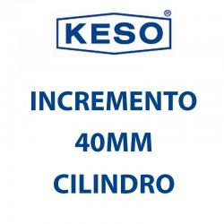KESO INCREMENTO 40MM CILINDRO