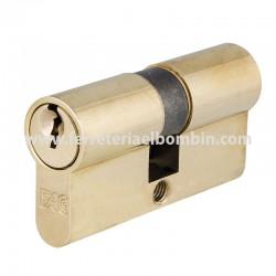 Cilindro 30x30mm latonado marca Fac