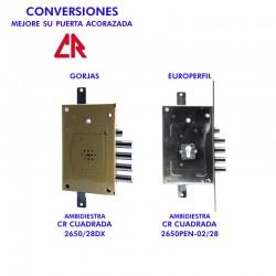 CR CONVERSIÓN DE CERRADURA...